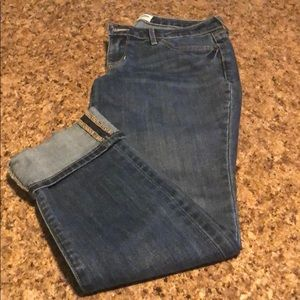 Old Navy straight jeans